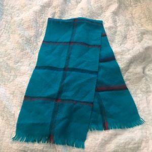 Beautiful teal scarf